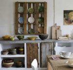 Muebles de palets para la cocina