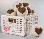 Bolas de secado 100 % lana orgánica natural. Ahorro energético y de suavizantes químicos