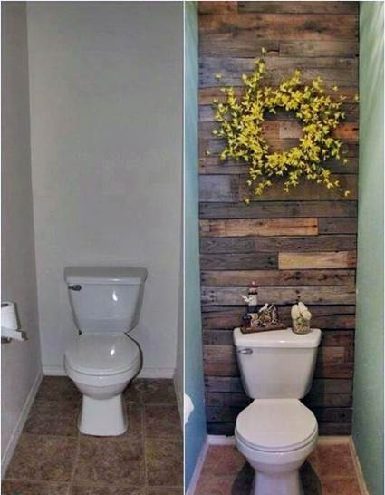 Como hacer un mueble para el bano con palets - Como decorar el bano ...