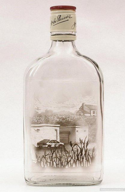 botellas-de-vino-pintada