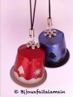 Cómo hacer campanitas y estrella de navidad con cápsulas nespresso