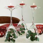 Decorar mesa de navidad reutilizando y reciclando objetos