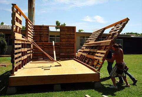 Como Construir Una Casa De Palets Objectbis Diseno Ecologico