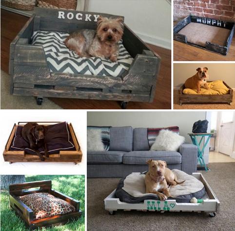 Camas de perros hechas a mano