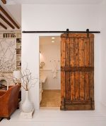 Puertas hechas con madera de palets