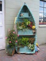 Transformar una barca en huerto