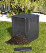 Compostador- recipiente que permite reciclar desechos orgánicos en casa
