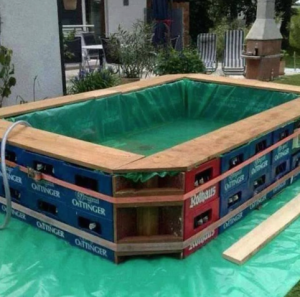 Piscinas para el verano de material reciclado objectbis - Material de piscina ...