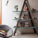 15 IDEAS CREATIVAS PARA RECICLAR-REUTILIZAR Y DECORAR CON ESCALERAS ANTIGUAS