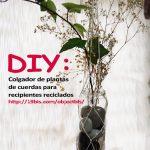 DIY: Colgador vertical de cuerda para plantas