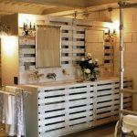 5 ideas con Palets para decorar el cuarto de baño