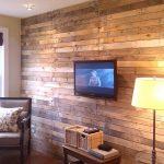 Revestir una pared con tablas de palés