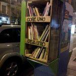Reciclar cabinas de teléfono -Proyecto Bibliocabina