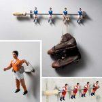 Recicla muñecos de futbolín