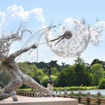 Esculturas de Hadas Hechas con Alambre por Robin Wight