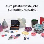 Máquina que permite reciclar plástico nosotros mismo en casa