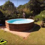 Cómo hacer una piscina con palets