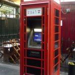 Reutilizar cabina telefónica inglesa