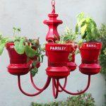 Segunda vida para una lámpara de colgar -Chandelier-