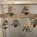 Originales adornos navideños de material reciclado
