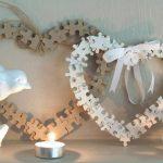 Corazones reciclado para San Valentín