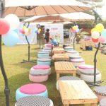 Más ideas para decorar fiestas y eventos especiales con materiales reciclado o en desuso