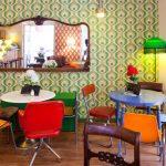 Restaurantes decorados con objetos de las abuelas