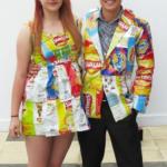 Originales disfraces para Carnaval 2020 de materiales reciclados. Especial parejas.